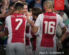 AFC Ajax vs Willem II